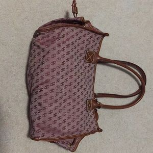 Maroon Dooney and Bourke bag